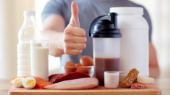 how much protein blog