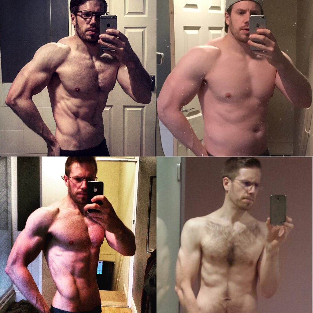 Before and After Build Muscle Program