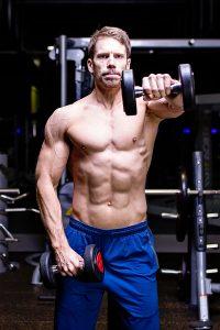 iron paradise fitness online coaching front raise