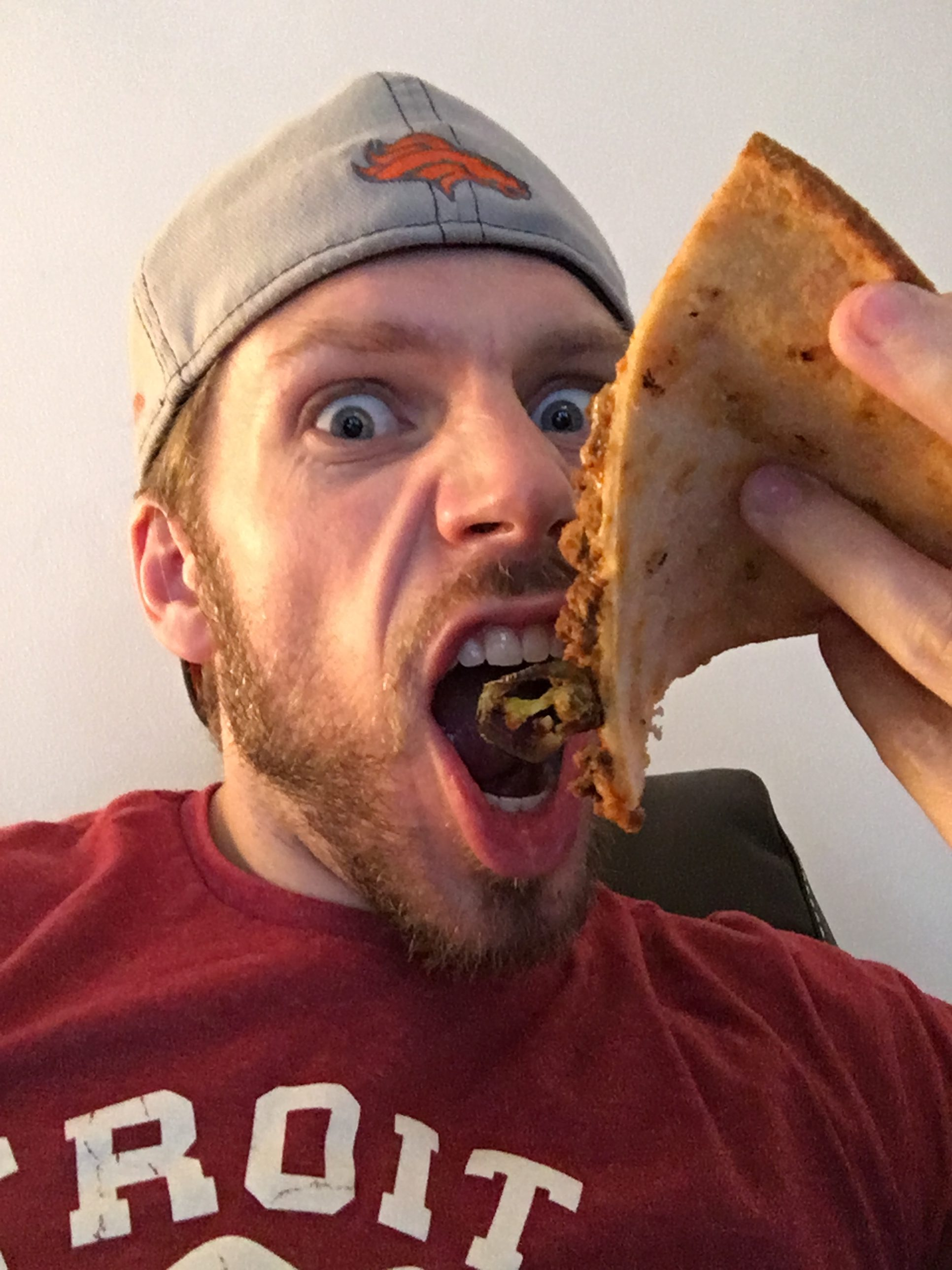 Pizza Eating After Workout