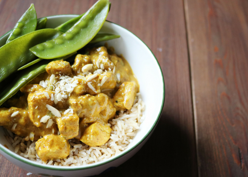 Chicken and Banana Curry by Iron Paradise Fitness