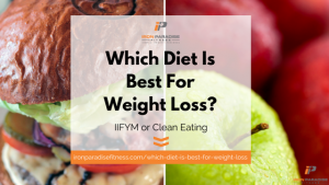 Which Diet is Best for Weight Loss IIFYM Clean Eating Blog Pic
