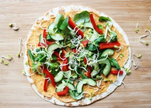 Iron Paradise Fitness Meal Prep Sunday Vegetarian Recipes Tortilla Hummus
