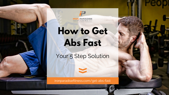 Iron Paradise Fitness Get Abs Fast Blog Pic