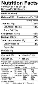 iron-paradise-fitness-food-label