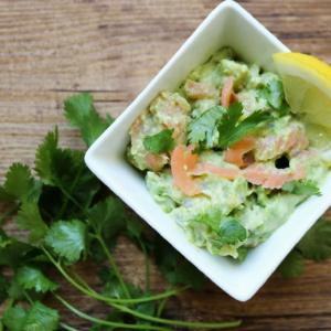Salmon Recipes: Smoked Salmon Guacamole