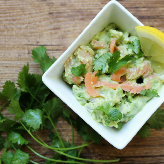Salmon Recipes: Smoked Salmon Guacamole