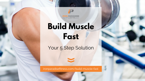 Build Muscle Fast Blog Pic