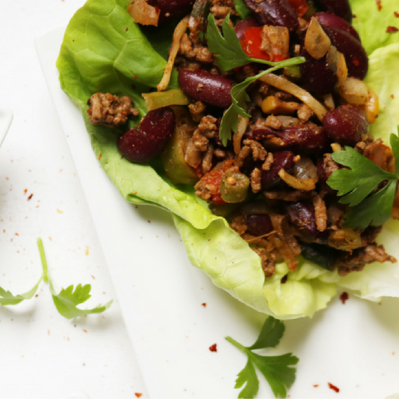 Mexican Recipes Lettuce Wraps Iron Paradise Fitness