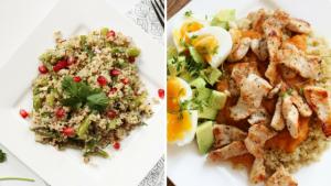 Quinoa Recipes meal prep sunday 20