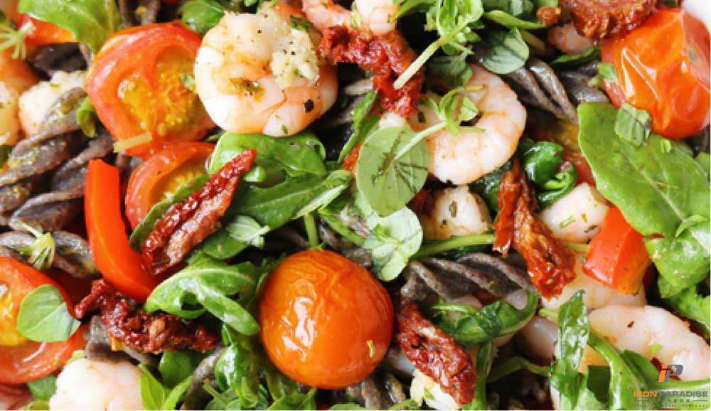 italian recipes shrimp pasta salad