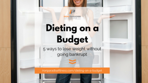 Dieting on a budget Blog Cover Pic