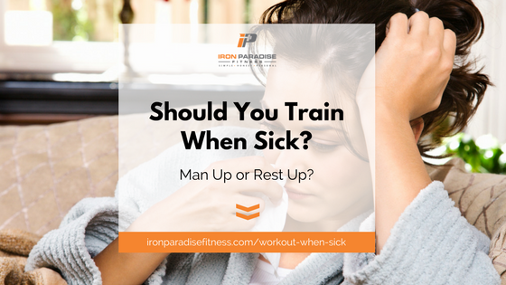 Workout when sick article title