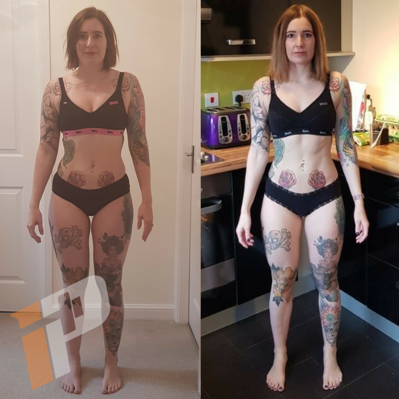 Hannah Jennings Body Transformation
