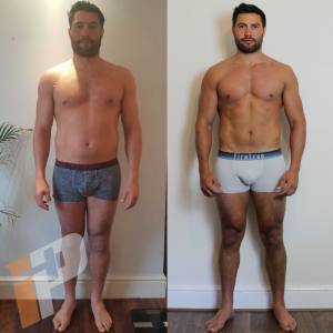 Online Coaching Iron Paradise Fitness Transformation