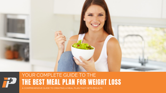 Meal plan For Weight Loss Article Cover Iron Paradise Fitness