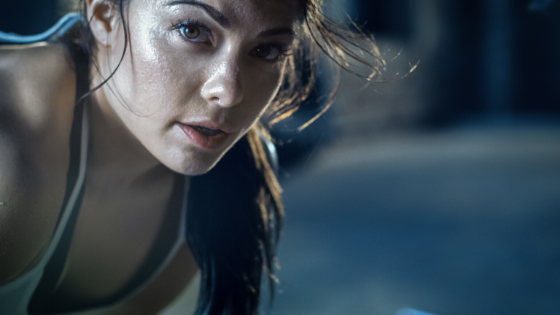 Sweat During Exercise Iron Paradise Fitness